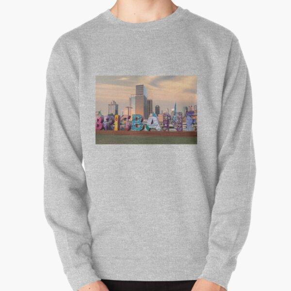 Brisbane Skyline Pullover Sweatshirt