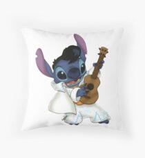 Elvis stitch Throw Pillow