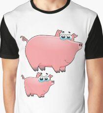 pig an piggy animal farm for kid Graphic T-Shirt