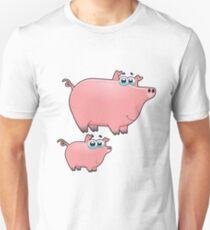 pig an piggy animal farm for kid Unisex T-Shirt