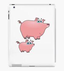pig an piggy animal farm for kid iPad Case/Skin
