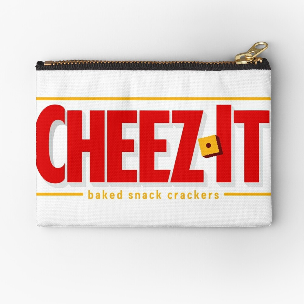 Cheez-It Snack Crackers  Zipper Pouch