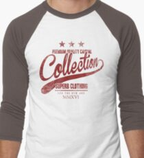 Retro Fashion t shirt Men's Baseball ¾ T-Shirt