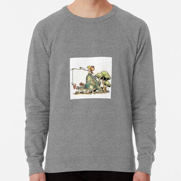 Dragon Riding Lightweight Sweatshirt