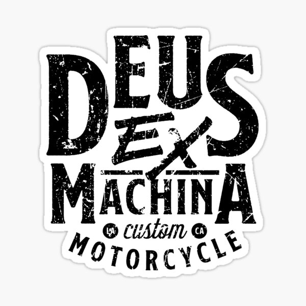 Deus Ex machina Sticker