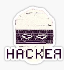 Another Hacker Mask Sticker