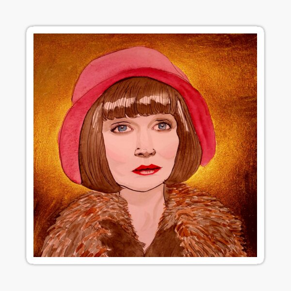 phryne Sticker