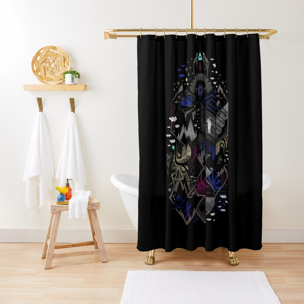 Yawning Hollow Shower Curtain
