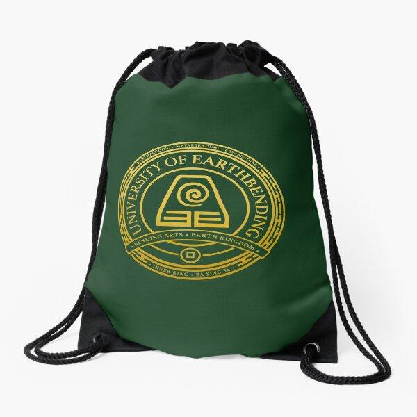 ATLA University of Earthbending: Avatar Inspired-Design Drawstring Bag