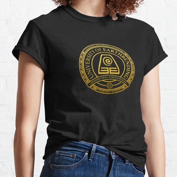 ATLA University of Earthbending: Avatar Inspired-Design Classic T-Shirt
