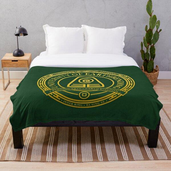 ATLA University of Earthbending: Avatar Inspired-Design Throw Blanket