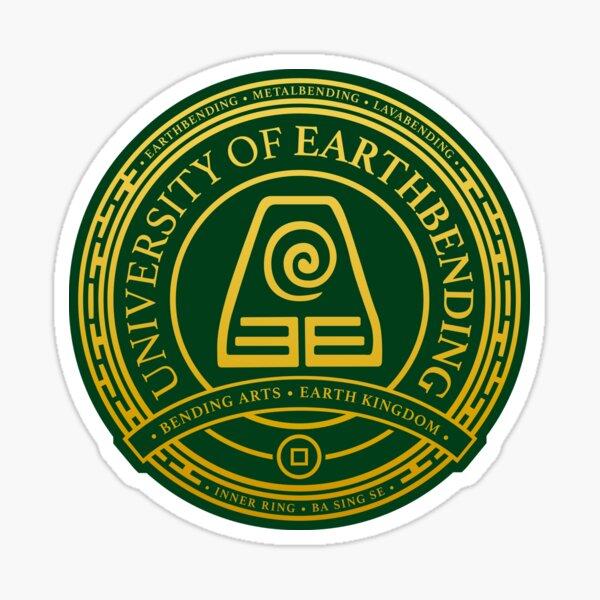 ATLA University of Earthbending: Avatar Inspired-Design Sticker