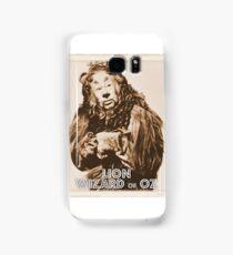 Wizard of Oz Lion Samsung Galaxy Case/Skin