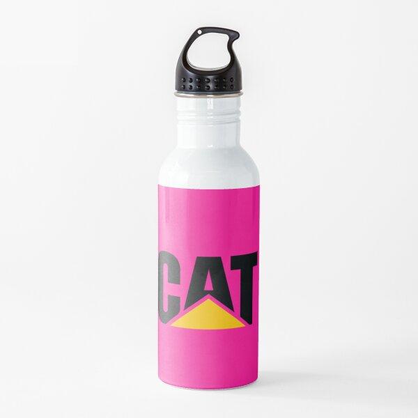 Cat in Pink Water Bottle