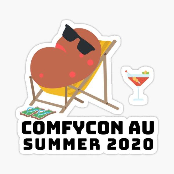 ComfyCon AU 2020 Summer Edition (Light) Sticker