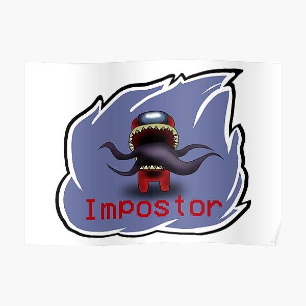 Among us impostor Póster