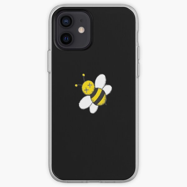 abeja voladora linda Funda blanda para iPhone