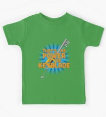 That's the power of the KEYBLADE! Kids Tee