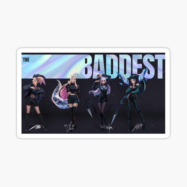 KDA The Baddest Sticker