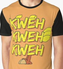 Chocobo (Final Fantasy) - Kweh! Graphic T-Shirt