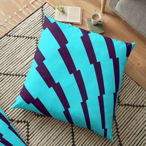 English Premier League Blue Purple Patterns Floor Pillow