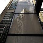 Reflection, King/George Streets, Sydney, Australia 2013 by muz2142