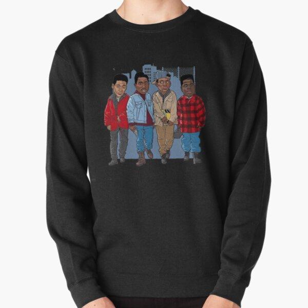 Juice film characters : Bishop , Raheem, Steel, Q Pullover Sweatshirt