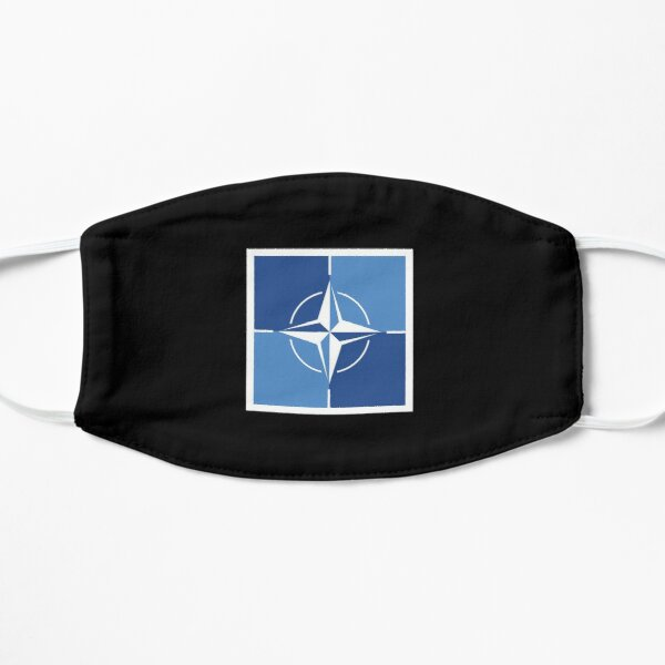 BLACK FRIDAY SALE - NATO OTAN Flag Mask