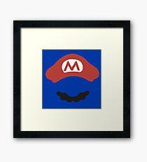 super mario game Framed Print