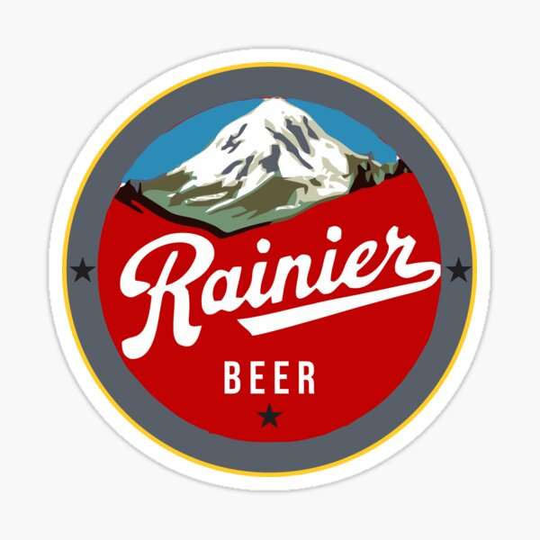 RAINIER Washington Don/'t Go Near My STICKER decal craft beer brewery brewing