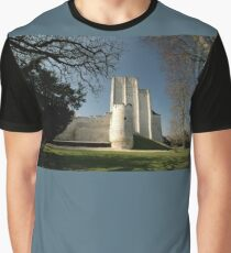 Donjon, Medieval City, Loches, France, Europe 2012 Graphic T-Shirt