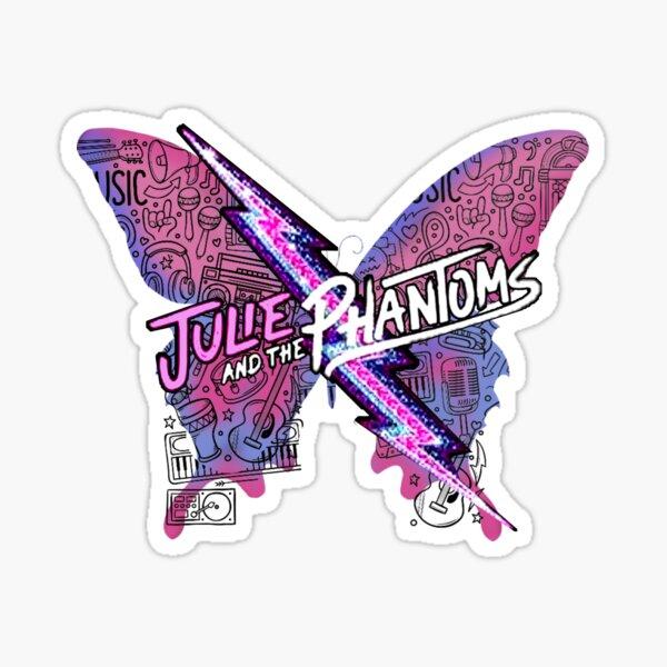 Julie and the Phantoms Butterfly Luke, groupe de Sunset Curve Sticker