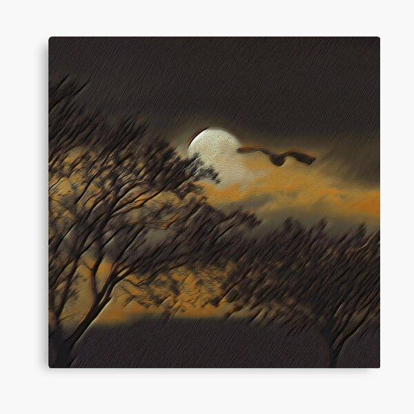 Full Moon IV Canvas Print