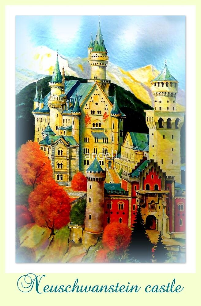 Neuschwanstein Castle by ©The Creative  Minds