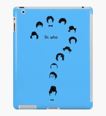 dr who question mark iPad Case/Skin