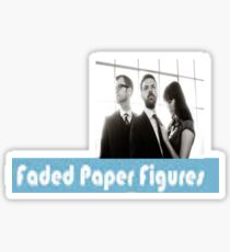 Faded Paper Figures Sticker