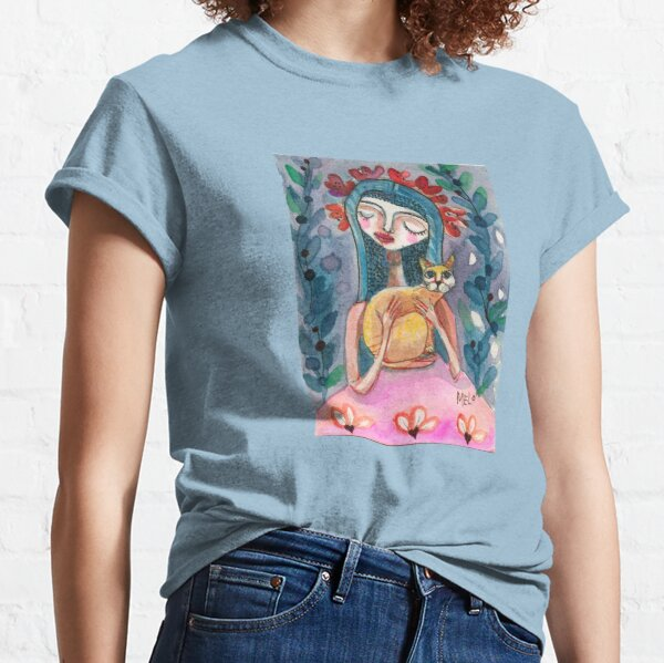 Cat Woman Classic T-Shirt