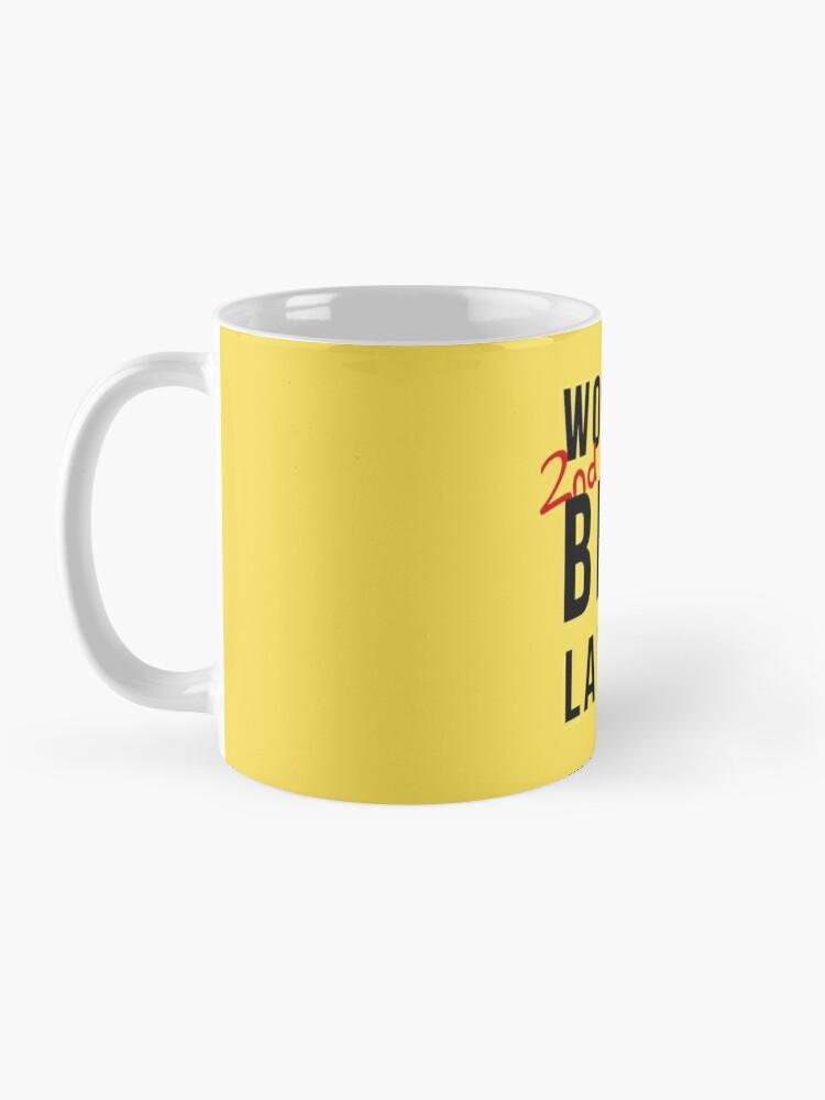 Alternate view of World's 2nd Best Lawyer Mug