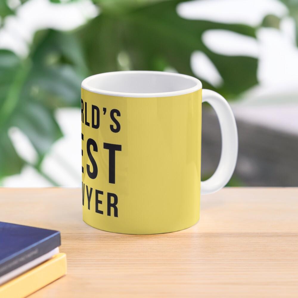 World's 2nd Best Lawyer Mug