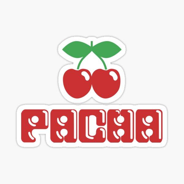 Pacha Nightclub Cherries Clubbing Club Concierto Gig Rave Party Ibiza Dj Pegatina