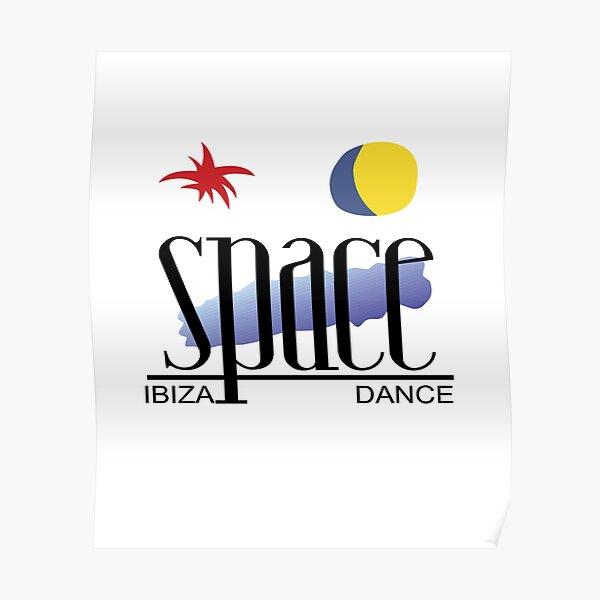 Space Nightclub Ibiza Memorabilia Dance Nie vergessen Clubbing Bestes Clubkonzert Gig Rave Party Dj Poster