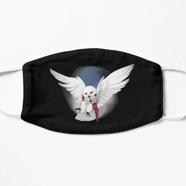 Snowy White Owl Flat Mask
