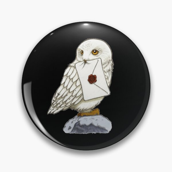 White Owl Pin