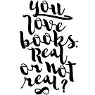 YOU LOVE BOOKS (BLACK) by aimeereads