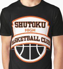 Shutoku High - Basketball Club Logo Graphic T-Shirt
