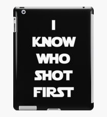 Shot First iPad Case/Skin