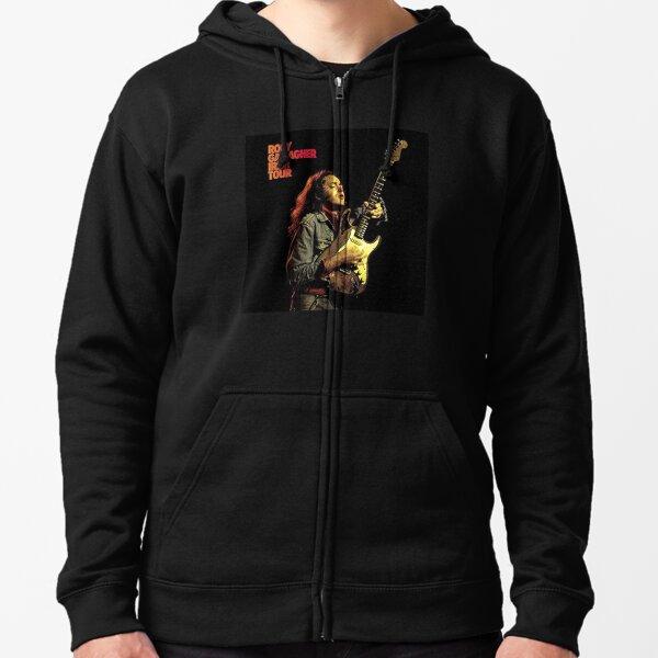 Rory Gallagher Irish Tour Zipped Hoodie