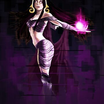 Liliana Vess Magic The Gathering by Anaelisch