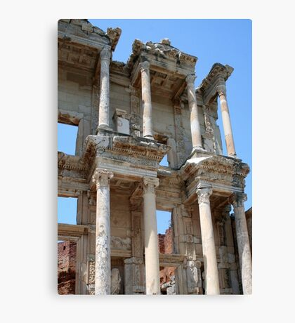 Library of Celsus, Ephesus Ancient City, Turkey Canvas Print