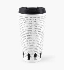 Seasons of Love(Black) Travel Mug